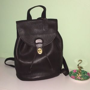 COACH Vintage Large Backpack Rare Chocolate Brown
